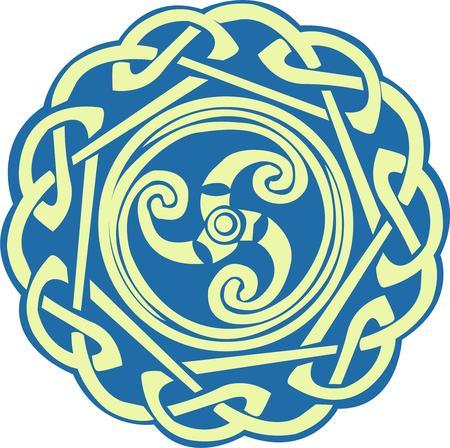 triskele:  Celtic spiral