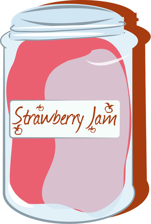canning: The best jam is homemade with love and care. Preserved in a lovely jar this design is perfect to create something special for the canning queen in your kingdom.