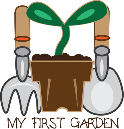 hand shovels: Springtime is time for planting and growing. Here are all the tools to make the best garden ever. Add them to your garden apron to make it even more special.