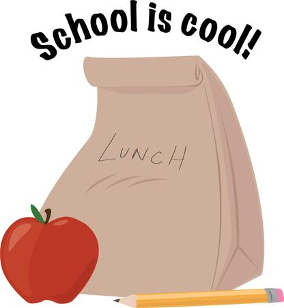 bagged: Kids who take their lunch to school will like this bagged lunch.
