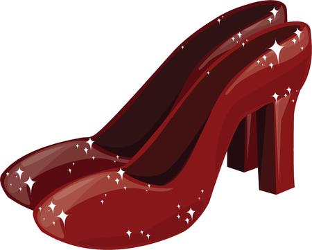 oz: All girls want a pair of ruby slippers.