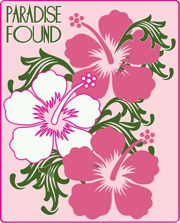rosemallow: Hibiscus aggiungere il loro tocco tropicale alle vostre creazioni. Essi sono l'aggiunta perfetta per creare bella abito.