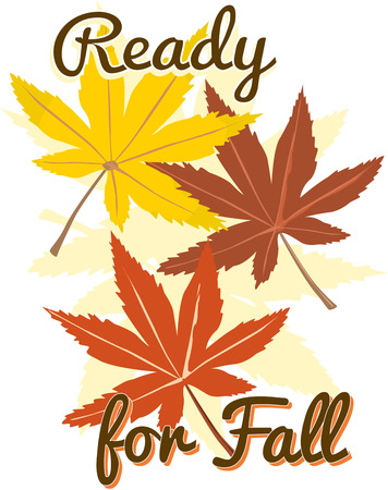 complement: We find the maple leaf is the most stunning of natures leafy creations.  The fall color of this foliage make it a perfect complement to any autumn decor project. Illustration
