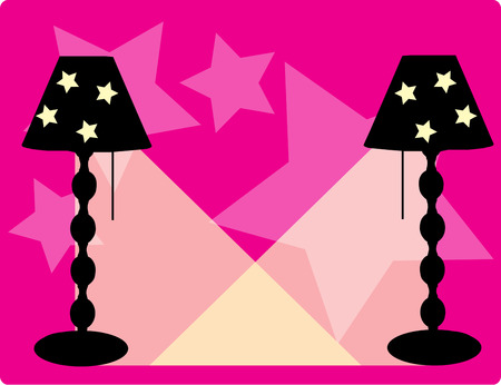 provide: These are the cutest lamps ever  Tiny stars provide the perfect escape for subtle rays of light.  Just what your dcor needs