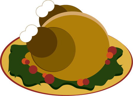 memorable: A luscious perfectly baked turkey on the platter  it must be Thanksgiving.  Decorate some memorable linen napkins with this turkey feast.