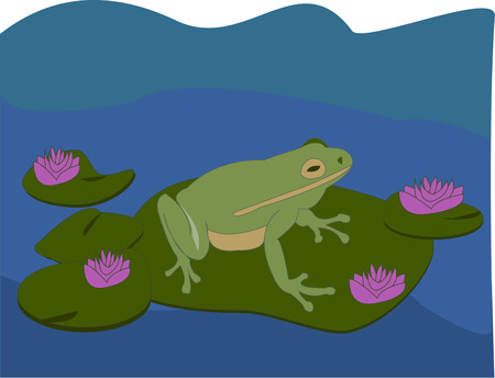 lily pad: Maybe a kiss from a special princess will turn this frog into a handsome prince  What a perfect addition to a princess themed dcor for a little princess.