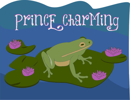 lily pad: Maybe a kiss from a special princess will turn this frog into a handsome prince  What a perfect addition to a princess themed decor for a little princess.