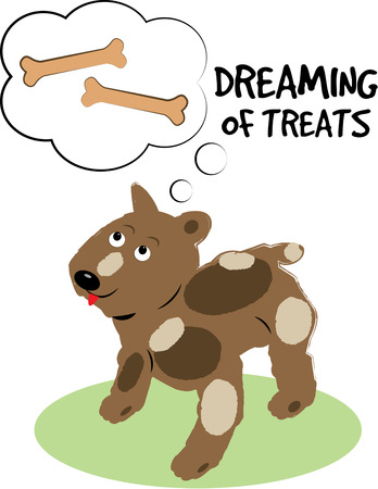 pup: Our sweet little pup loves his master and dreams of treats  This cute canine is just the perfect decoration for a treat bowl.