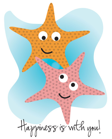 brittle: Smiling starfish add a happy feel to your projects.  We love these nautical creatures on kids bathroom decorations.