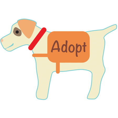 man's best friend: Mans best friend is a dog.  Add this colorful best friend to apparel or create a icon for a kennel or groomer