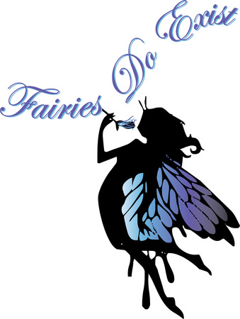 fairy silhouette: Oue winged fairy silhouette brings her delicate charm wherever she flies.  Little girls will love her as an embellishment to room dcor.