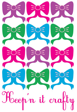 accessory: Ribbons and bows are the perfect accessory because everything looks better with a bow  Create a fun bow rack featuring this colorful block of bows.