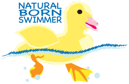 ducky: Go ahead and make a splash.  Create perfect swim gear with this super cute little ducky