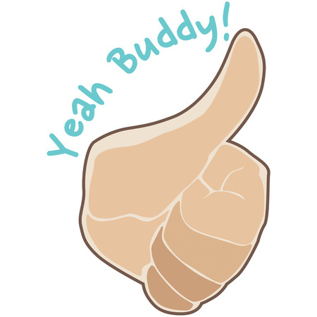 ok sign language: Thumbs up for encouragement and praise.  Create a reward for the achievers or hard workers in your organization.