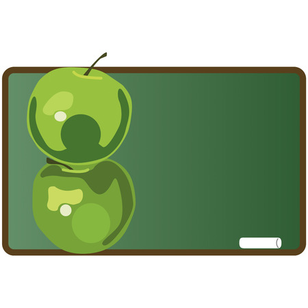 shinning: Every teacher loves a gift of pretty apples and these green beauties are sure to do the trick  Add these tasty fruits to your back to school for a special flair.