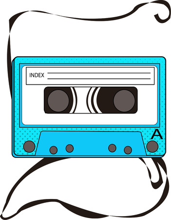 came: Remember when your favorite tunes came on cassette tape  Go back to that time with this retro design.