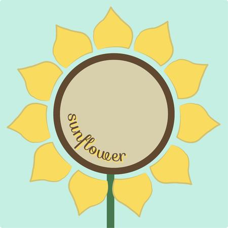 helps: Sunflowers are such a cheery and bright flower to look at any time of the year.  This bright design helps you create the most stunning decorations for your sun porch Illustration