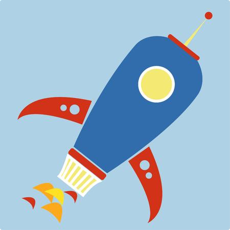 rocket ship: Off to explore the depths of outer space  Our colorful rocket ship makes a fun decorative element for a future astronauts room.