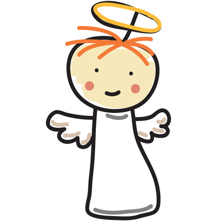 guardian angel: Everyone has a guardian angel to watch over them.  Add this simple yet sweet angel to baby nursery or baby sleepers to watch over the new arrival.