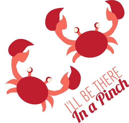 crustacean: These bright red crustacean is a hit at mealtime.  Serve him up as a decoration on your table linens to create a lovely table.