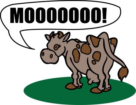 g�n�rer: Cette vache dr�le est s�r de g�n�rer des sourires de tous ceux qui la voient. Consid�rez cette conception d'amusement pour un animal de ferme veste th�me.