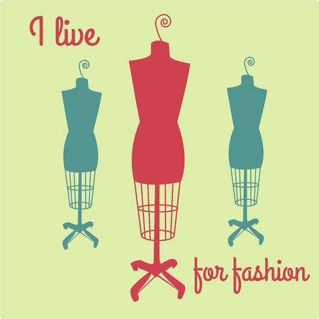 necessity: The only rule is dont be boring and dress cute wherever you go. A dress form is a necessity for designers and seamstresses.  Add this design to a very special sewing box.