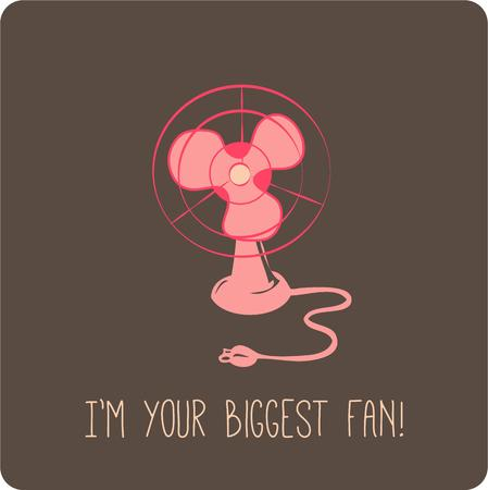 airflow: We have seldom seen a better way to announce that you are a fan!  This design makes amazing fun t-shirts.  Create them by the bunches! Illustration