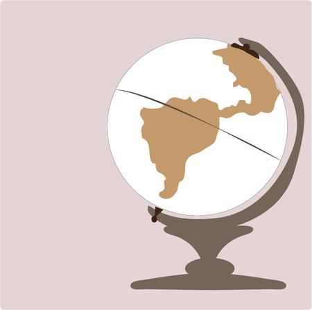 wherever: Spin the globe wherever it lands thats where well go. This is a perfect design for travel and tourism companies. Illustration