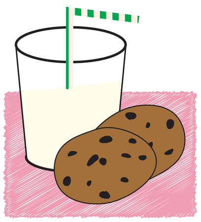 after school: The perfect snack for after school or before bed  milk and cookies  Some things just go together