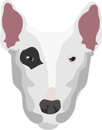 pooch: Dog lovers are sure to find appeal in this artistic terrier face.  Artistic use of shading and color come together to create a most interesting image.  Perfect for home dcor items.
