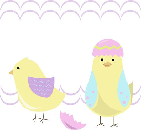 chirp: These extra special colorful chicks are just hatched for Easter.  Celebrate the arrival of spring with these crafty chicks on your projects of the season.
