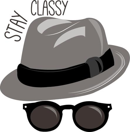 disguise: Become a Blues Brother a spy even a sharp dressed man with these shades and hat.  A perfect disguise for your projects like invitations or goodie bags