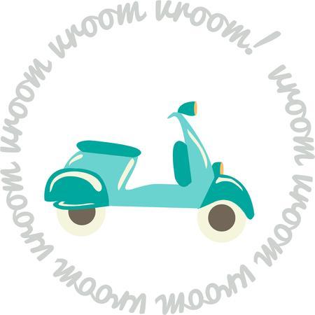 motorizado: Conducir un coche veh�culo ecol�gico esta Vespa Este scooter motorizado es tan divertido en una chaqueta de montar o camisa.