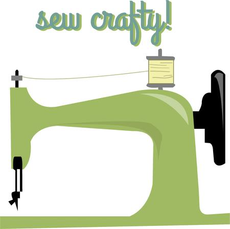 treasured: This vintage sewing machine is a treasured heirloom.  Use this design to create a gift a seamstress will be sure to treasure.