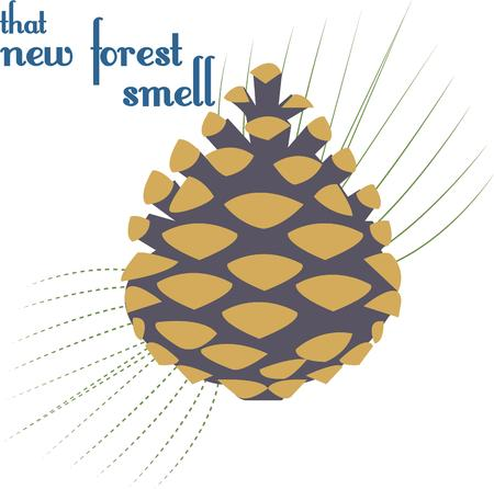 pinecone: A pinecone accented with a spray of pine needles makes a striking decoration.  We love it as part of winter dcor on runners and pillows.