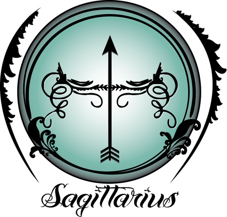 artsy: The ninth sign of the zodiac in astrology is Sagittarius.  Create something amazing for your favorite Sagittarius with this fun and artsy zodiac design.