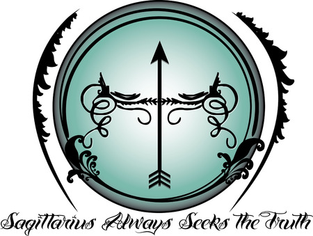 ninth: The ninth sign of the zodiac in astrology is Sagittarius.  Create something amazing for your favorite Sagittarius with this fun and artsy zodiac design.