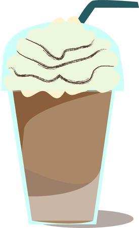 frozen drink: Coffee