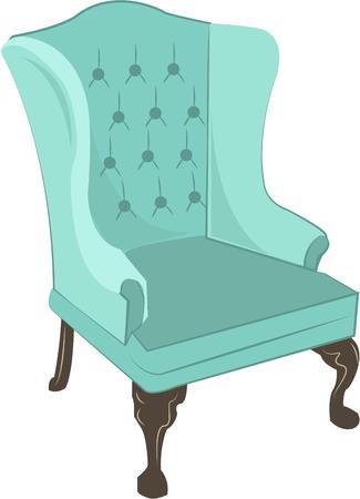 easy chair: Chair