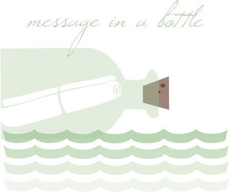 message bottle: Message bottle