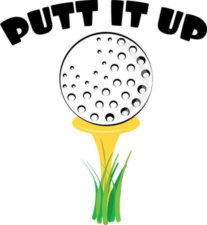 cue sports: Golf ball