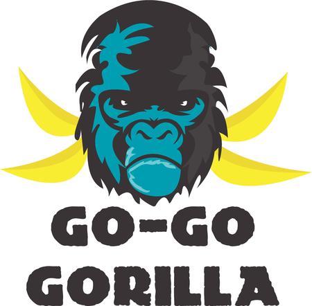 critter: A fierce gorilla