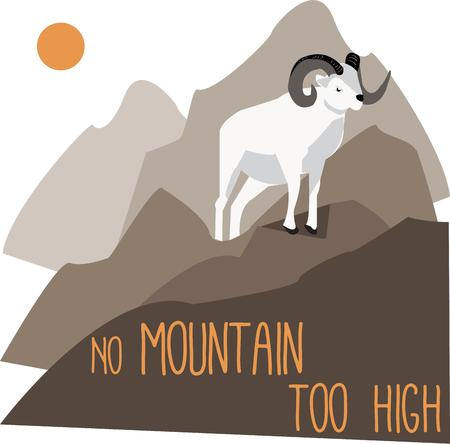 billy: Billy goat Illustration