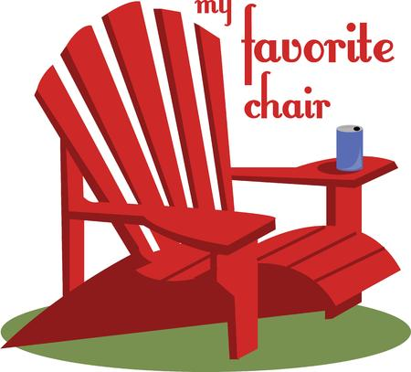 cor: Backyard chair