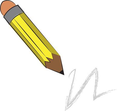 sharp pencil: Sharp pencil Illustration