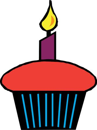 holiday celebrations: Cupcake
