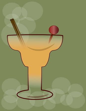 gimlet: Cocktail Illustration