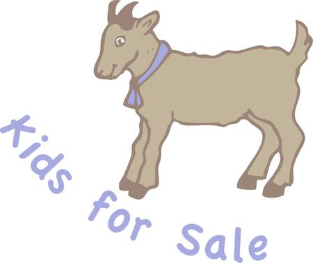 billy: Animal lovers all around just have to love this cute little billy goat.  He is sure not to get lost with this bell on his neck