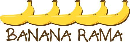 rama: Banana Illustration