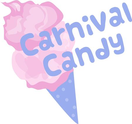 spun sugar: Cotton candy